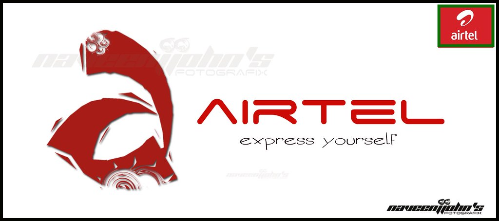 new airtel logo d