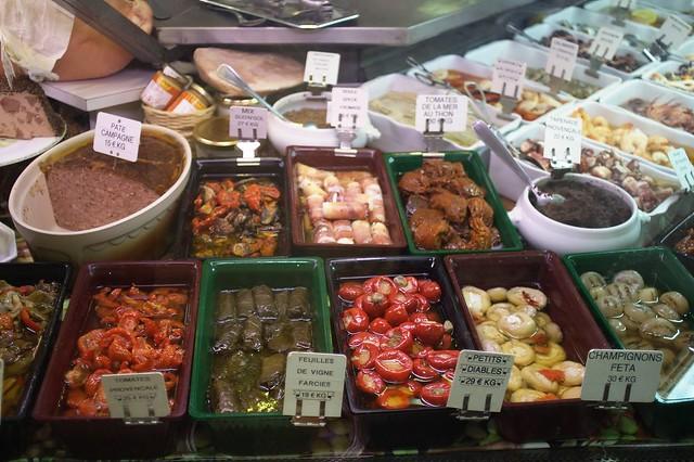 Menton market - deli