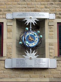 Hebden Bridge Millennium Clock