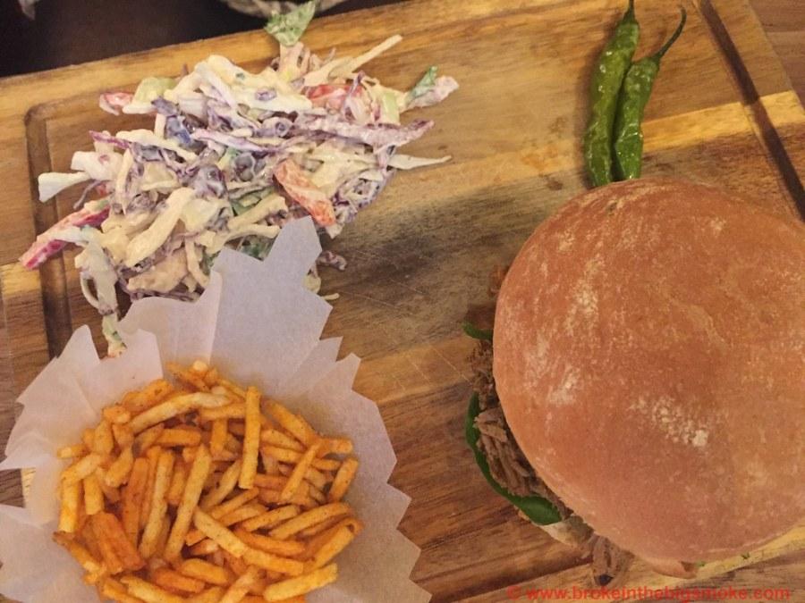 Dishoom Shoreditch Lamb Burger