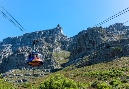 Table Mountain - Cable Cars