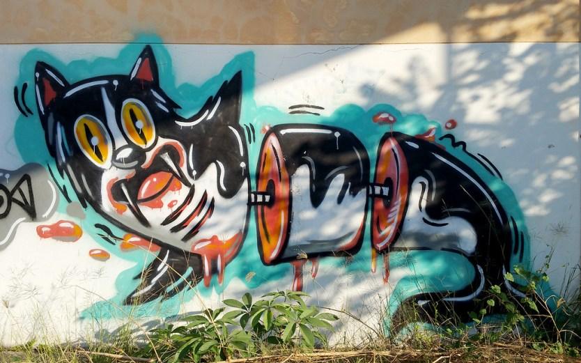 Chiang Mai Street Art 01