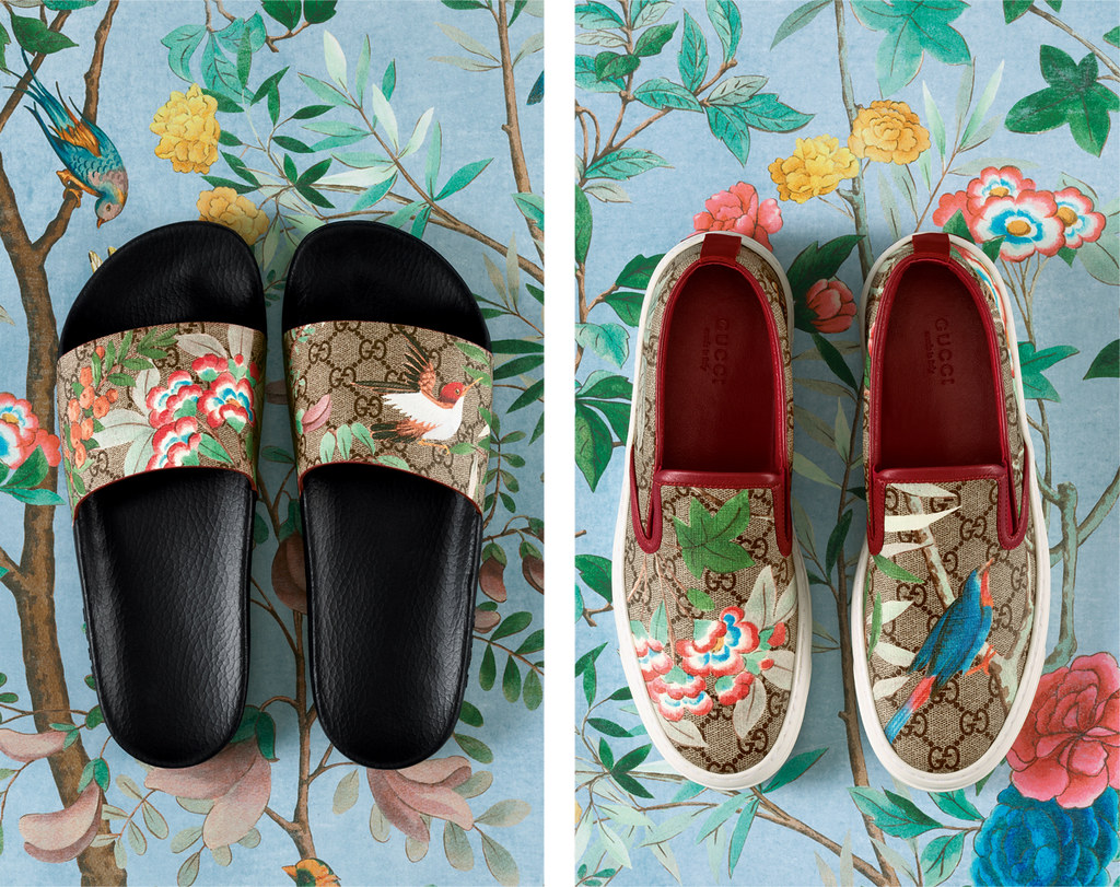 Gucci Tian Capsule collection shoes