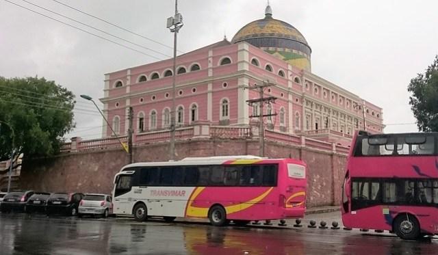 Amazonas THeater tourist bus