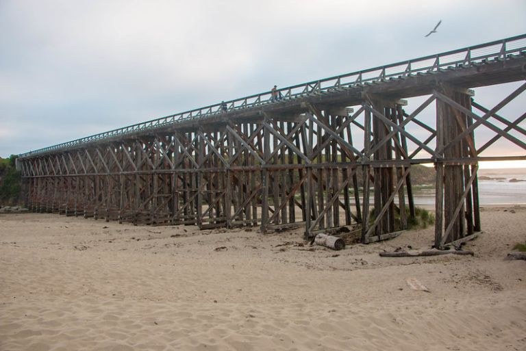 04.02. Pudding Creek Beach and Bridge