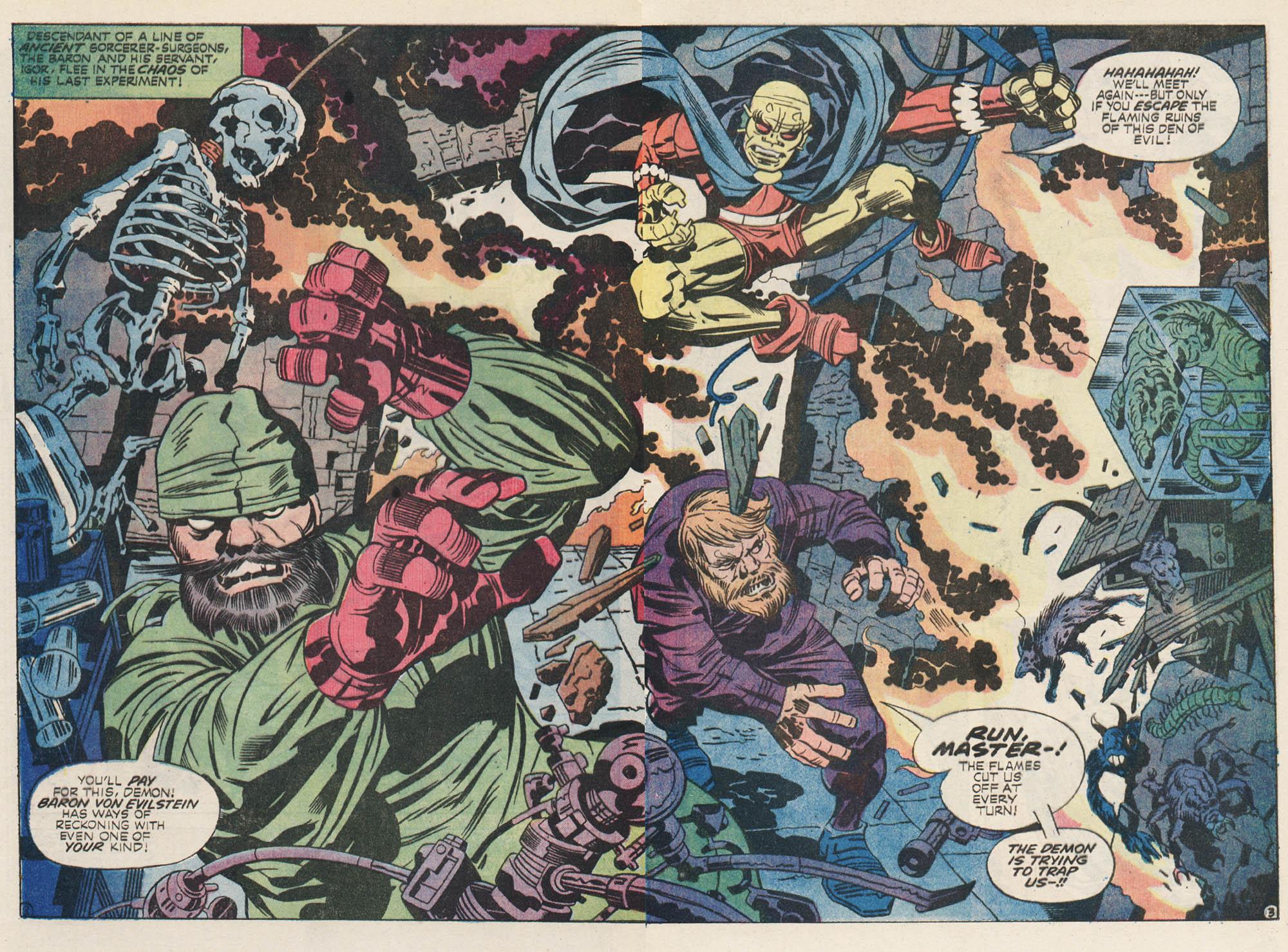 Monster Brains Jack Kirby