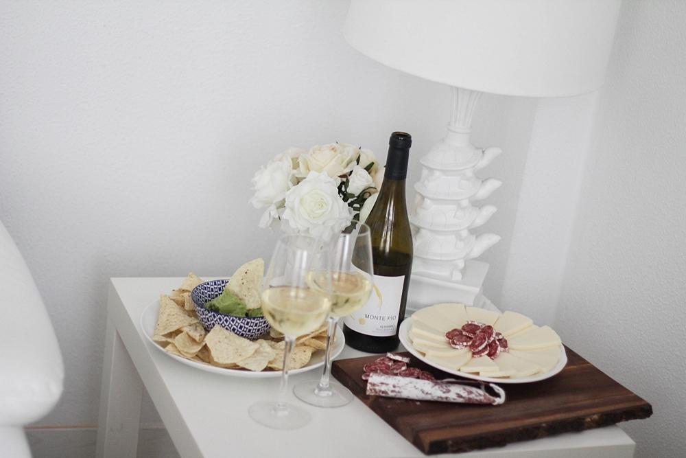 vino albariño monte pio cena de picar myblueberrynightsblog
