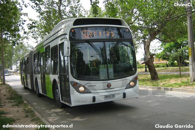 Transantiago Transición (379) - Alsacia / Express - Marcopolo Gran Viale / Volvo (ZN5339)
