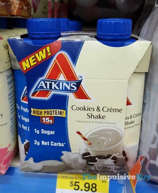 Atkins Cookie & Creme Shake