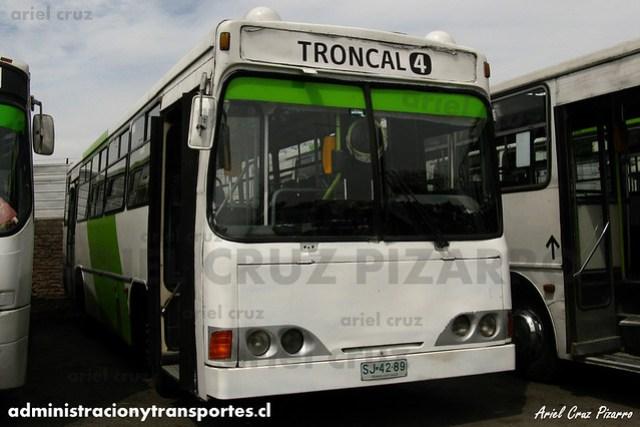 Transantiago (406e) - Terminal La Estrella - Cuatro Ases Metropolis / Mercedes Benz (SJ4289)