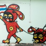 Maynard's Street Art Obsession – Chiang Mai, Thailand