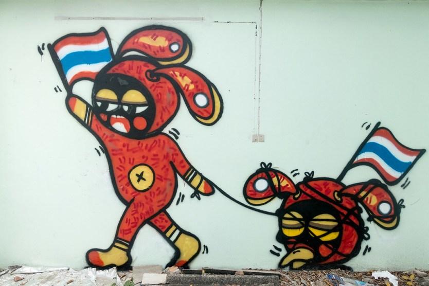 Street Art Chiang Mai
