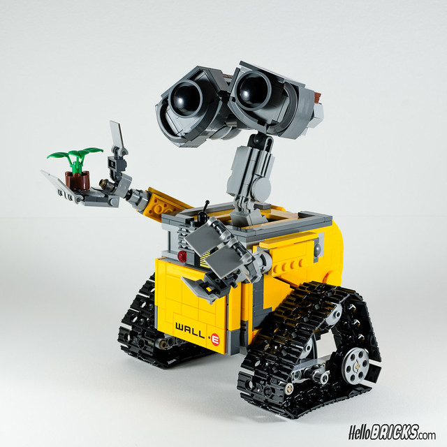 REVIEW LEGO 21303 WALL-E LEGO IDEAS 18