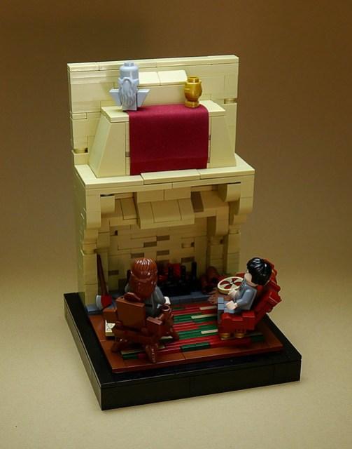 LEGO Harry Potter vignettes #005 - Gryffindor Common Room