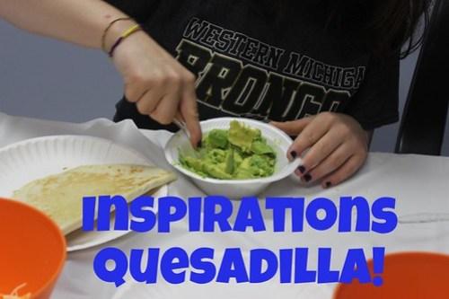 Teen girls in drug rehab make tasty quesadillas!