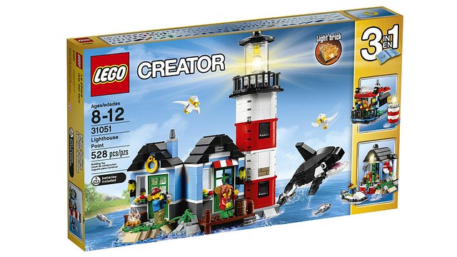 LEGO Creator Lighthouse Point (31051) box