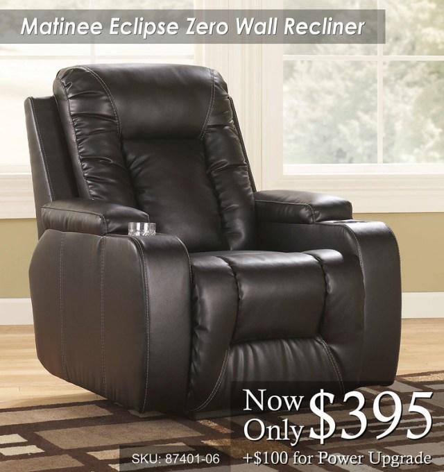 Matinee Eclipse Zero Wall Recliner