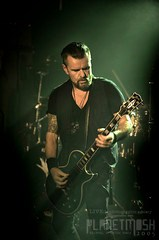Billy Duffy of The Cult live at Mandela Hall, Belfast, 6 March 2016
