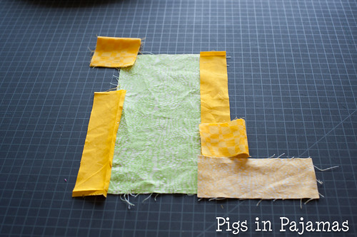 Improv quilting take 3 after removing