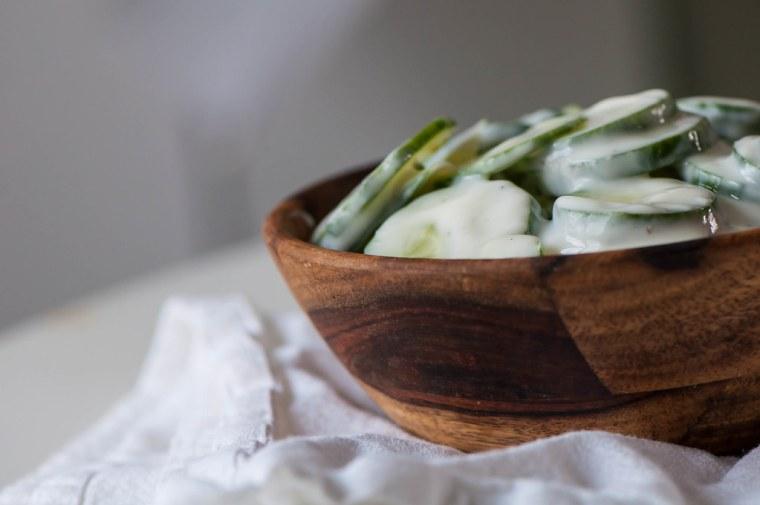 Cucumber Raita 2