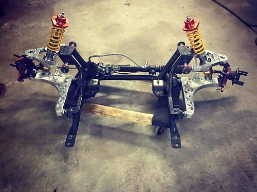 V8 Roadsters Pro Series Subframe and Billet Control Arms