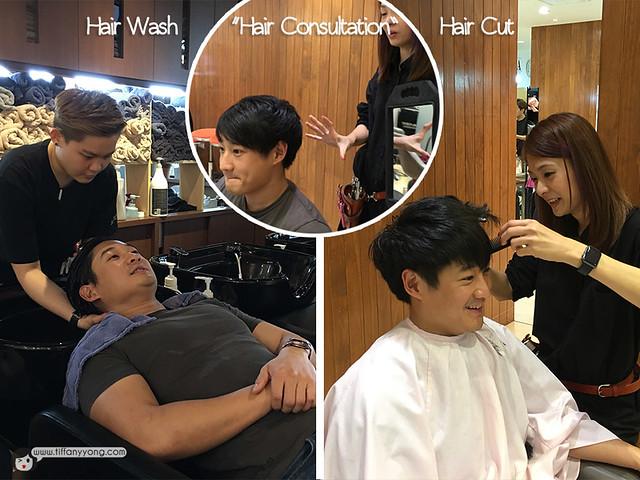 Shunji Matsuo Fsnnie Ng Hair Consultation