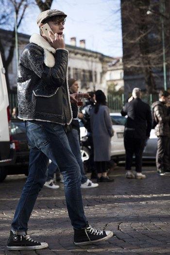 「レザースニーカーに合うメンズファッション」の画像検索結果