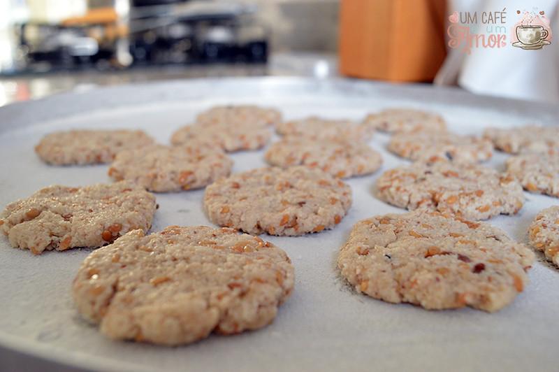 Receita de Cookies com Resíduo do Leite de Coco