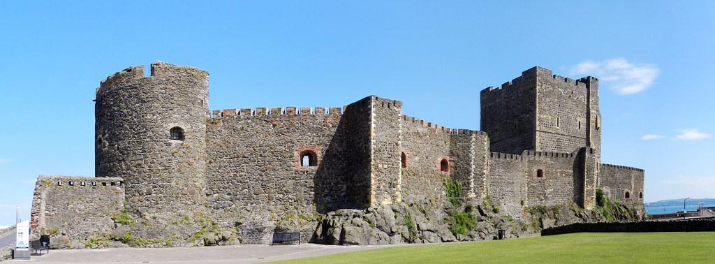 Exterior Castillo Carrickfergus Ulster Irlanda del Norte 03