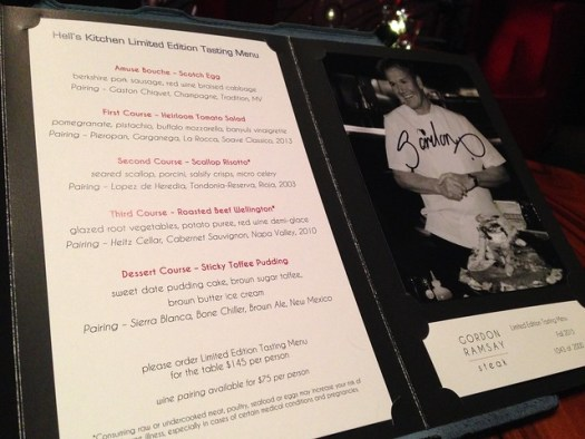 Gordon Ramsay Steak, Paris Casino, Las Vegas NV