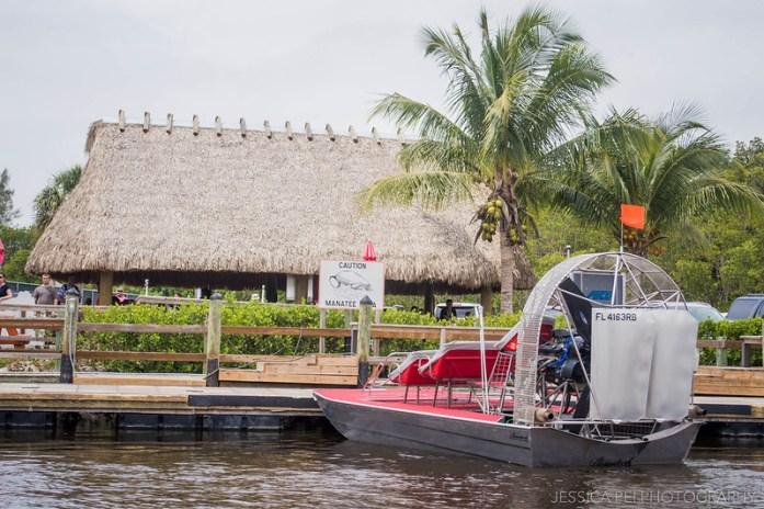 Florida Everglades Manatee Area