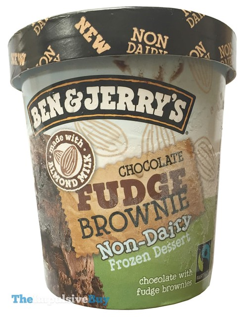 Ben & Jerry's Chocolate Fudge Brownie Non-Dairy Frozen Dessert