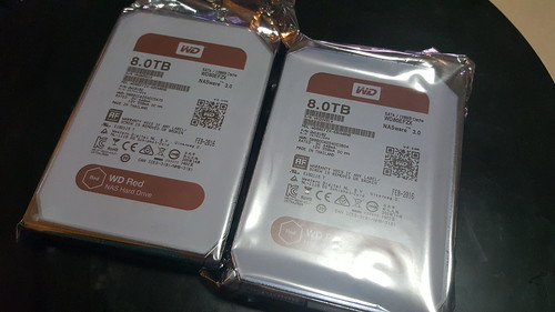 WD Red 8TB แบบใหม่ Helioseal