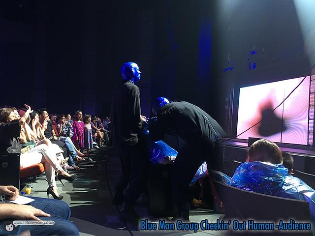 Blue Man Group Singapore Audience