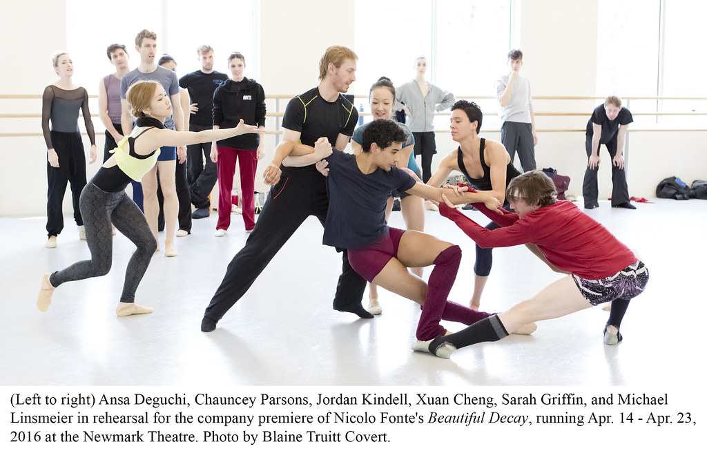 BEAUTIFUL DECAY REHEARSALS