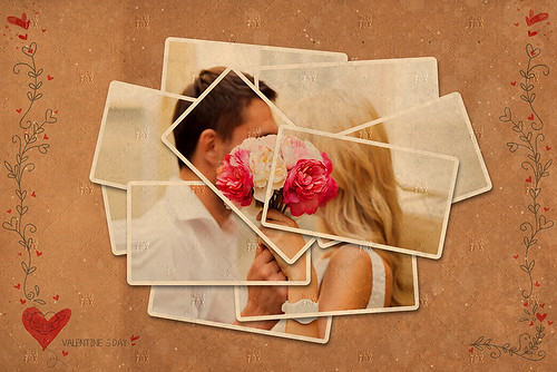 20 Valentine Photo Templates - Vol.02
