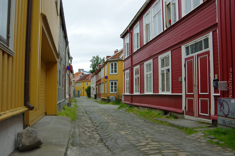 Die Gassen in Trondheim laden zum Schlendern ein.