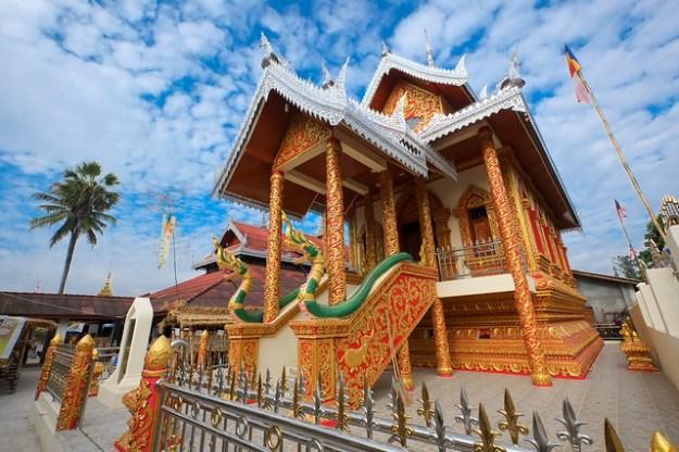 Buddhist monastery. Keng Tung