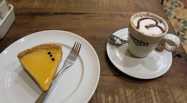 cappucino tart caffeina brzil