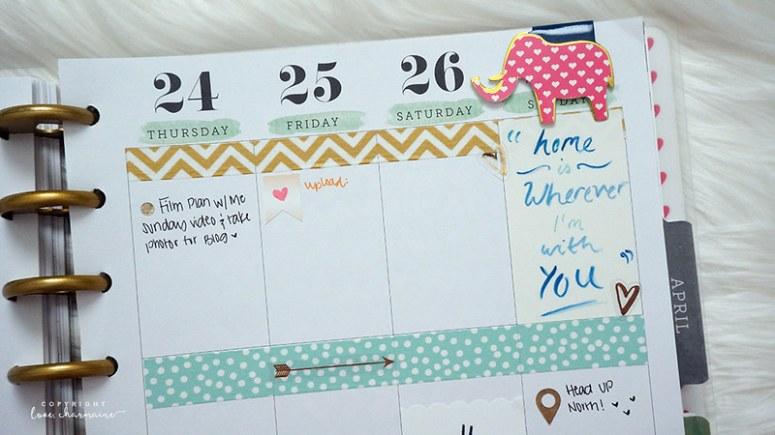PWM Week 12 | LoveCharmaine.com