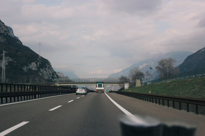 On the way to Campitello