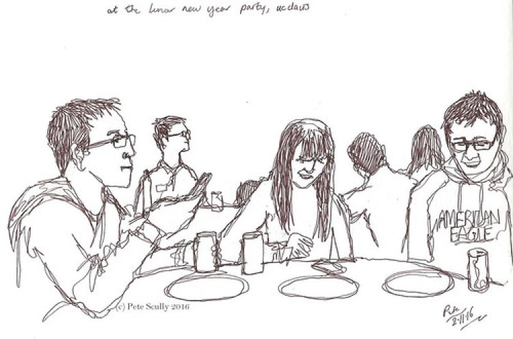 Image result for party sketch