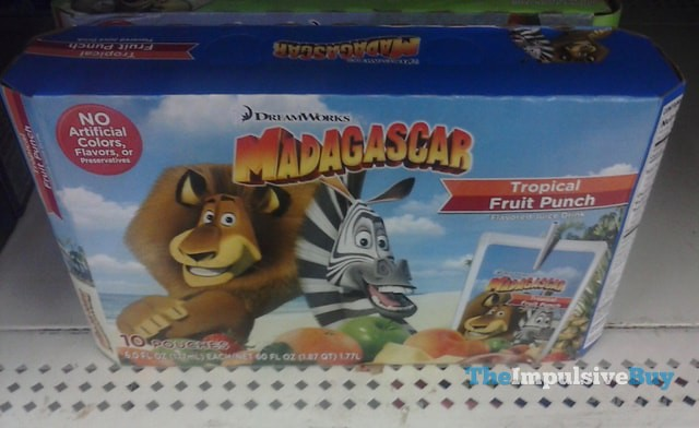 DreamWorks Madagascar Tropical Fruit Punch