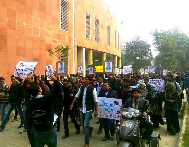 Protest in Jamia