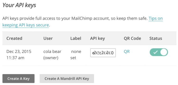 mailchimp-apikey