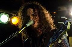 Oli Brown of RavenEye live at the Diamond Rock Club, Ahoghill, 13 February 2016
