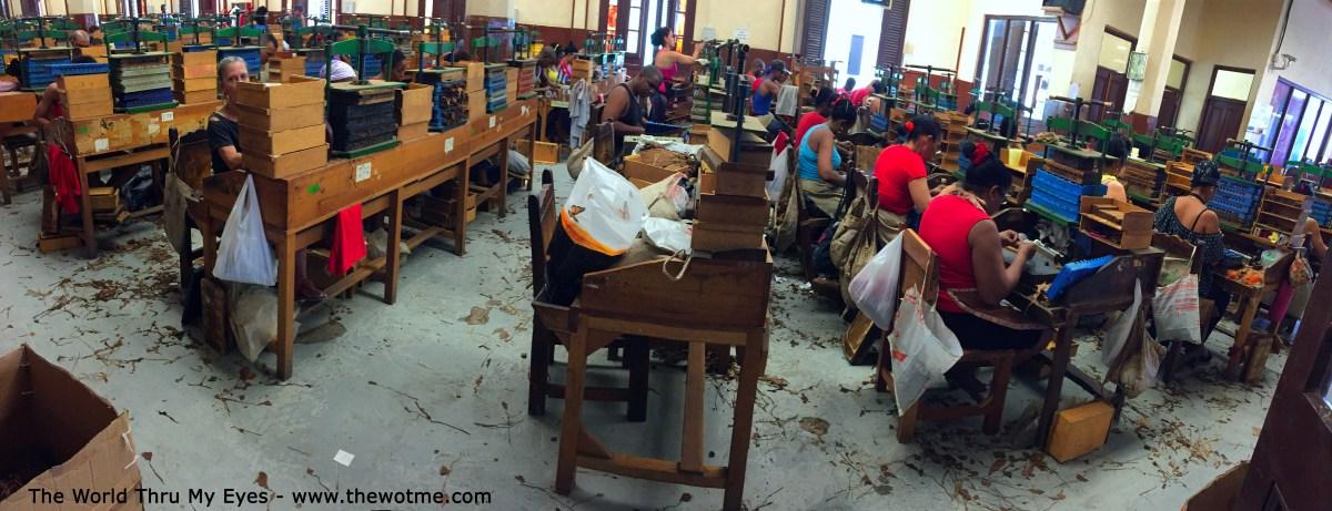 visita a la fábrica de puros de La Habana: Fabrica de Puros de La Habana en Cuba fábrica de puros de La Habana Visita a la fábrica de puros de La Habana en Cuba 25726652634 b904d43e27 o