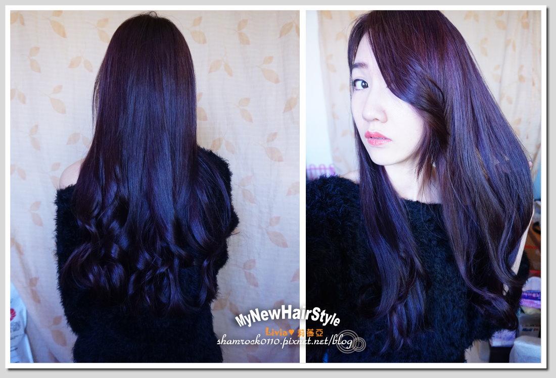 【Livia♥美髮】好質感深紫色染髮分享♥Hair Ton大師 - Livia's blog