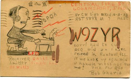 QSL Cards-W9ZYR-back