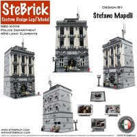 LEGO MOC-4652 Police Department (Modular Buildings 2016 ...